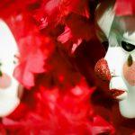 Máscaras de Pierrot. Foto: Laila Guedes